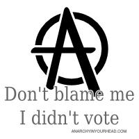 Don't Blame Me. I Didn't Vote.