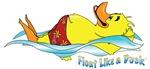 Float Like A Duck original logo