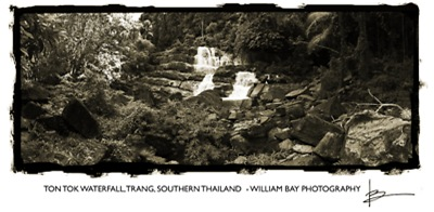 Ton Tok Waterfall, Trang, Southern Thailand