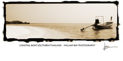 Longtail Boat, Southern Thailand