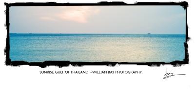 Sunrise, Gulf of Thailand