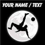 Custom Bicycle Kick Moon