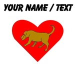Custom Bloodhound Heart