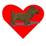 Norwich Terrier Heart