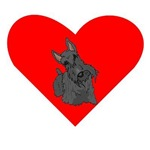 Scottish Terrier Heart