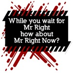 Mr Right, or Mr Right Now?