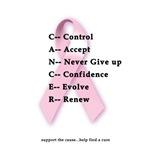 Cancer: Control, Accept...
