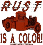 RUST IS A COLOR