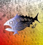 Stained Retro Tuna Scales