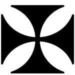 Iron Cross for Light colored items