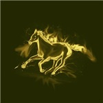 flame horse