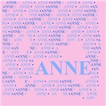 Made of words name ANNE
