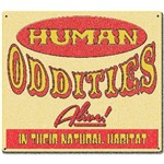 Human Oddities with faded background