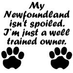 Well Trained Newfoundland Owner