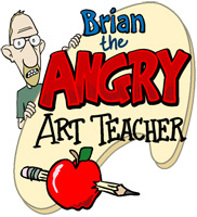 Angry Art Teacher