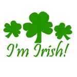 I'm Irish!