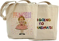 Cute Tote Bags for Kids!