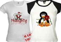 More Adult Christmas Holiday Clothing!