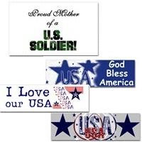 USA Patriotic Bumper Stickers