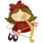 Little Cupid Girl Tshirts and Gifts