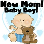 New Mom Baby Boy Tshirts and Gifts