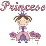 Stick Figure Princess T-shirts and Gifts