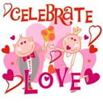 Celebrate Love T-shirts and Gifts