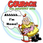 Courage the Cowardly Dog T-shirts and Gifts