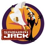 Samurai Jack With Aku T-shirts and Gifts