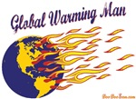 Global Warming Man