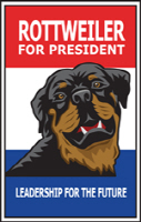 Rottweiler for president