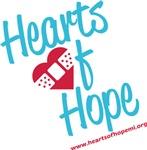 Hearts of Hope Slanted Script