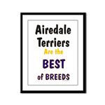 Airedale Terrier Framed Prints and Posters