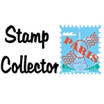 Stamp Collector T-shirts and gifts.
