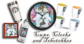 Cups, Clocks, Tchotchkes