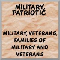 Military, veterans, patriotic merchandise