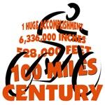 CENTURY, 100 miles