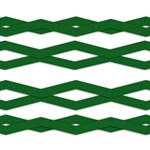 Green Zigzags