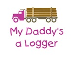 My Daddy's a Logger - Pink