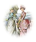 Portrait of Victorian Ladies