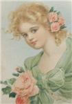 Romantic Flower Girl