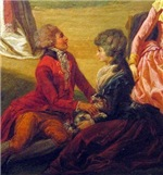 French Rococo Couple