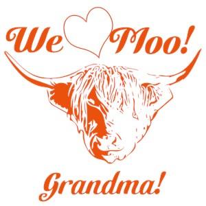 We Love Moo! Highland Cow