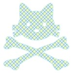 Kitty & Crossbones / Plaids