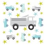 Trucks & Stars - Gray