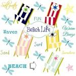 Beach Life - navy