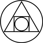 Circle Triangle Square Symbol