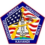 Shuttle Mission 104 Patch Insignia