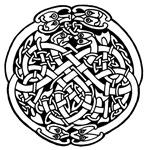 Zoomorphic Celtic Circle