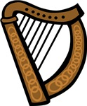 Celtic Harp Icon